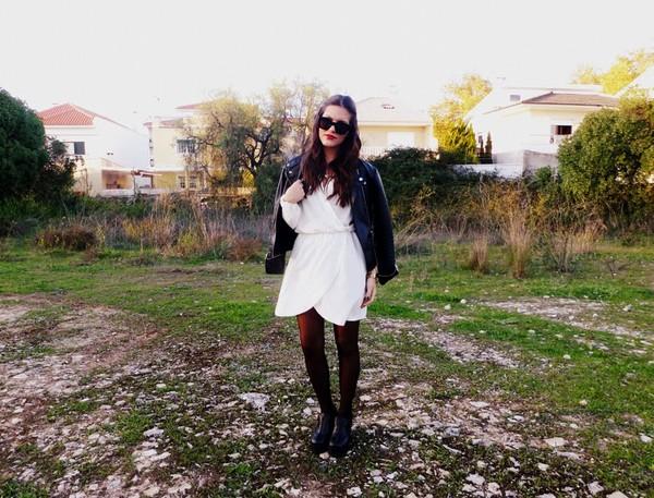 pure lovers dress jacket sunglasses