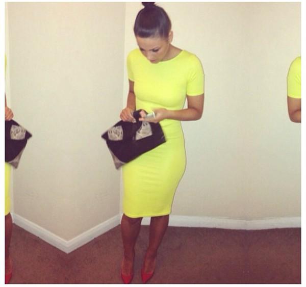 yellow dress yellow dress midi dress
