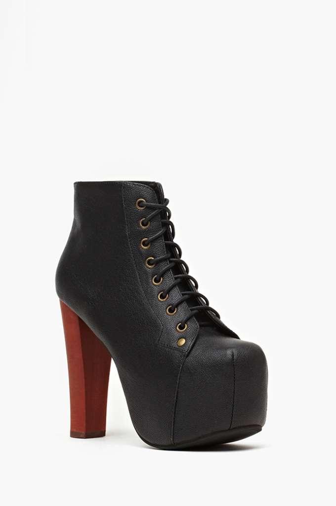 Jeffrey Campbell Lita Platform Boot - Black   Shop Shoes at Nasty Gal