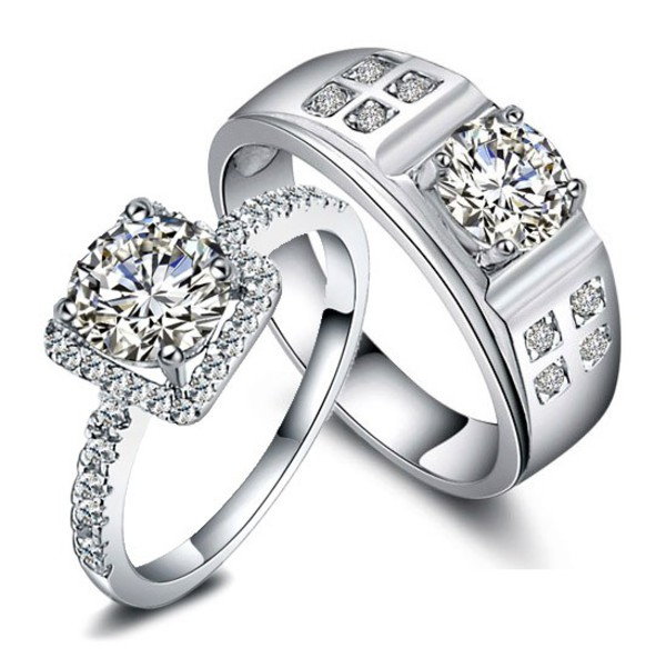 jewels his and hers rings his and hers gifts couples rings matching rings anniversary rings engagement ring engagement ring designer rings diamond rings engraved rings promise rings couples jewelry personalized rings for 2