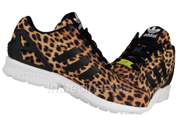 shoes leopard adidas