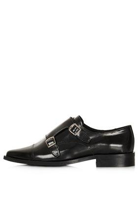 PERPIGNAN Monk Shoes - View All  - Shoes  - Topshop
