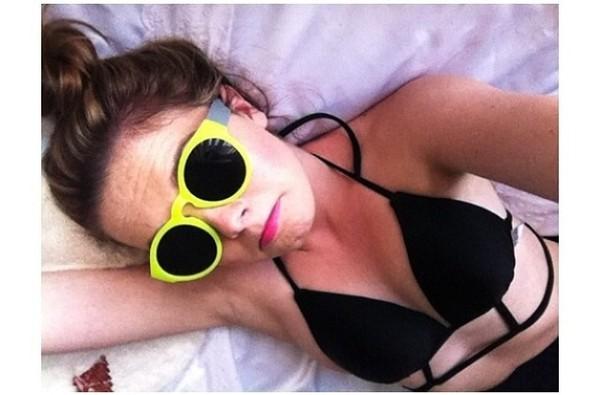swimwear black bikini
