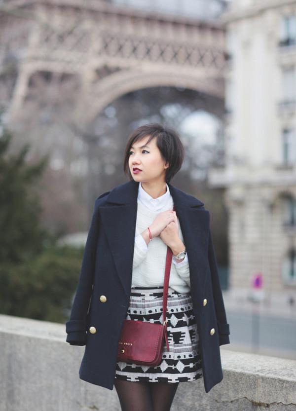 le monde de tokyobanhbao coat sweater shirt jewels skirt