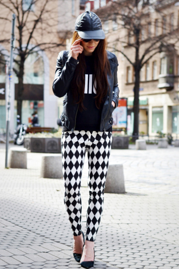 flirting with fashion jacket sweater pants shoes sunglasses
