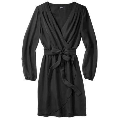 Mossimo® Women's Long Sleeve Wrap Dress - As... : Target