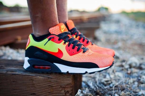 shoes neon air max