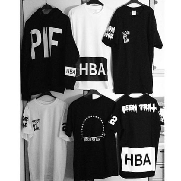 t-shirt hood by air