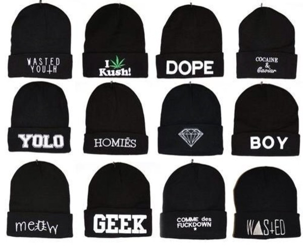 hat black beanie nail accessories