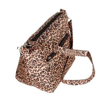 Amazon.com: [Cassual Life] Coffee Leopard Handbag Shoulder Bag Satchel Bag Purse: Shoes