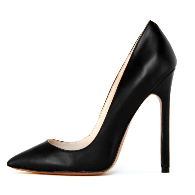 Gilda Black Leather - SOLD OUT - LAUREN MARINIS