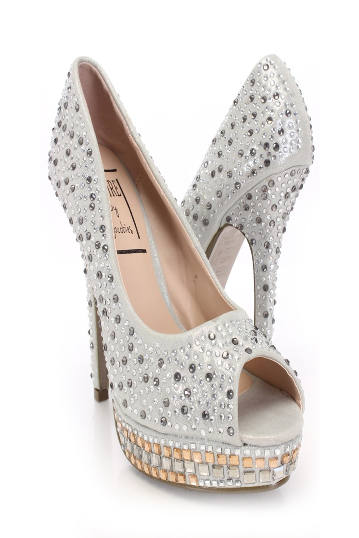 Silver Shimmer Fabric Rhinestone Pump Heels @ Amiclubwear Heel Shoes online store sales:Stiletto Heel Shoes,High Heel Pumps,Womens High Heel Shoes,Prom Shoes,Summer Shoes,Spring Shoes,Spool Heel,Womens Dress Shoes,Prom Heels,Prom Pumps,High Heel Sandals,C