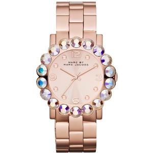 Marc by Marc Jacobs Rose Gold Amy Scallop Bracelet Watch - Sale