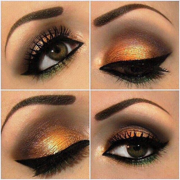 make-up eye shadow