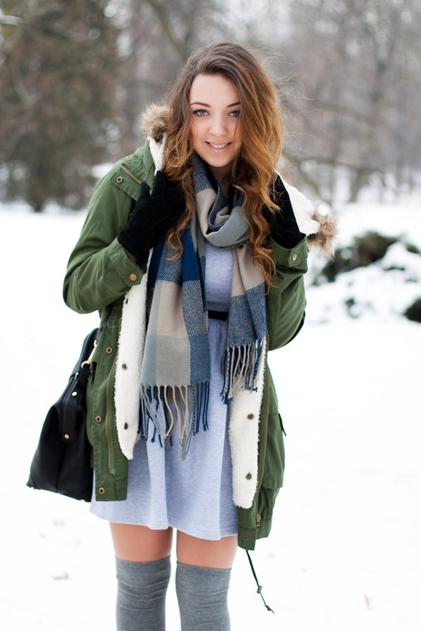 kolorowa dusza dress jacket bag scarf shoes