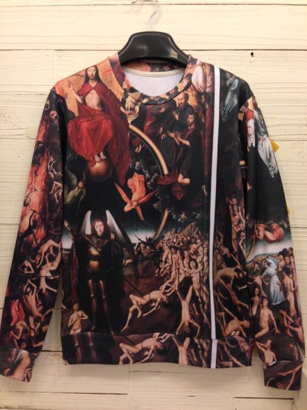 Mr gugu miss go animal 3d lovers pattern pullover sweatshirt-inHoodies & Sweatshirts from Apparel & Accessories on Aliexpress.com