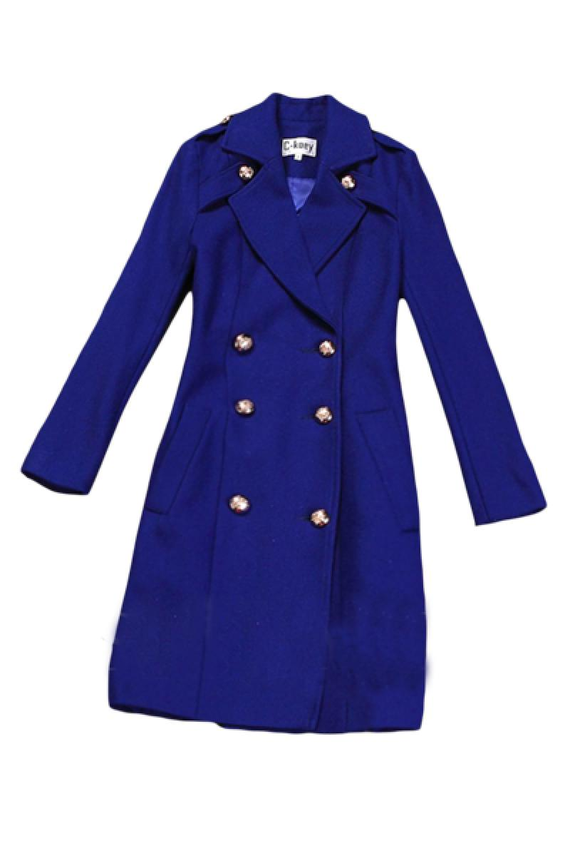 2013 Winter New Section Western Double Breasted Woolen Overcoat,Cheap in Wendybox.com