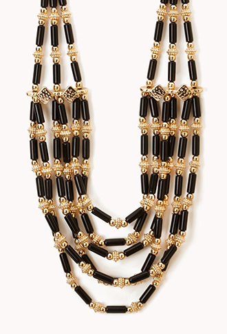 Layered Bead Necklace | FOREVER21 - 1046507112