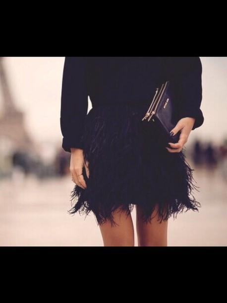 skirt feathers exact