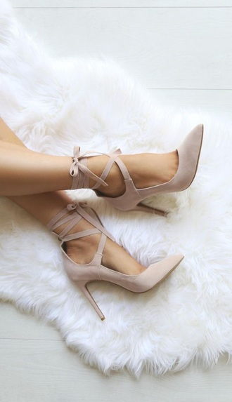 shoes lace up heels heels strappy heels lace up purple light pink
