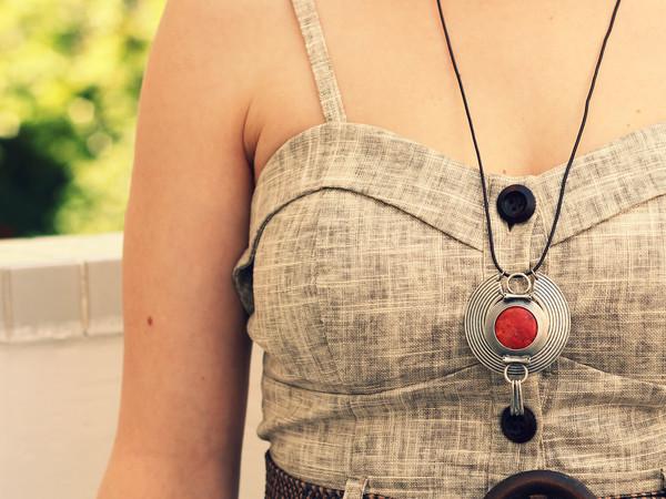 bag necklace