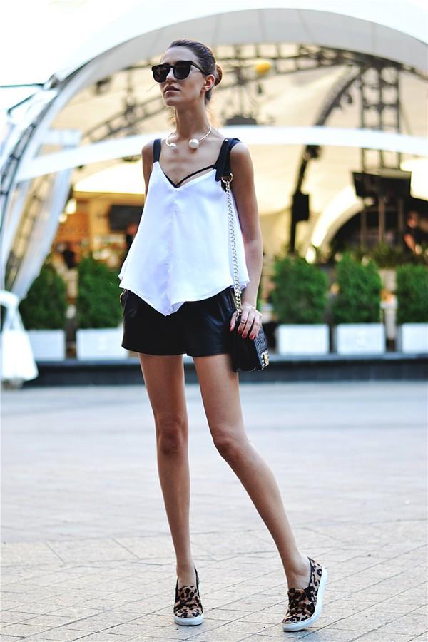 tina sizonova top shorts bag jewels underwear