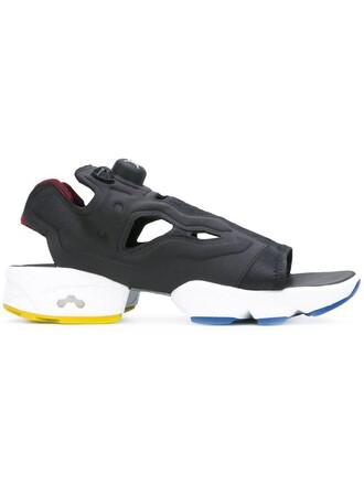 women sandals black shoes