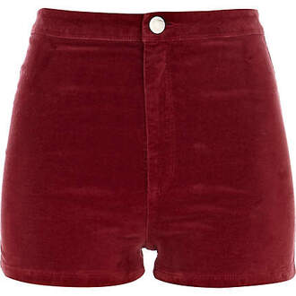 shorts clothes corduroy velvet skinny fit ruby lush high waisted shorts high waisted turquoise