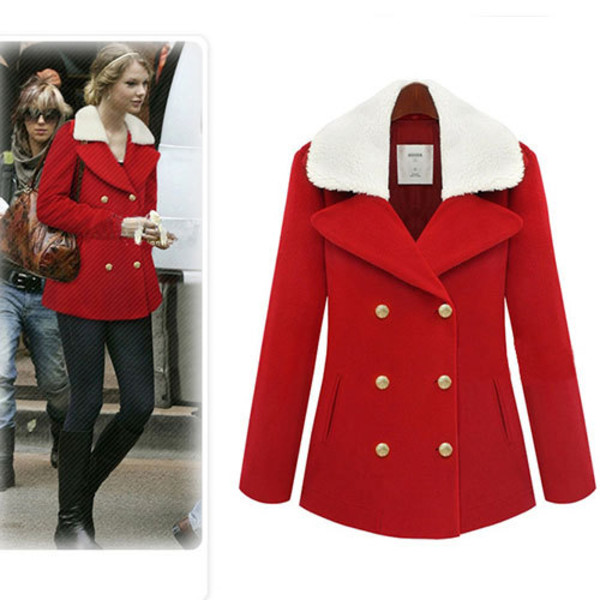 coat fashion double breasted