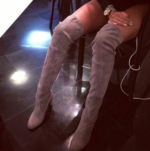 Botte Cuissarde modèle Kate Moss - irresistyle