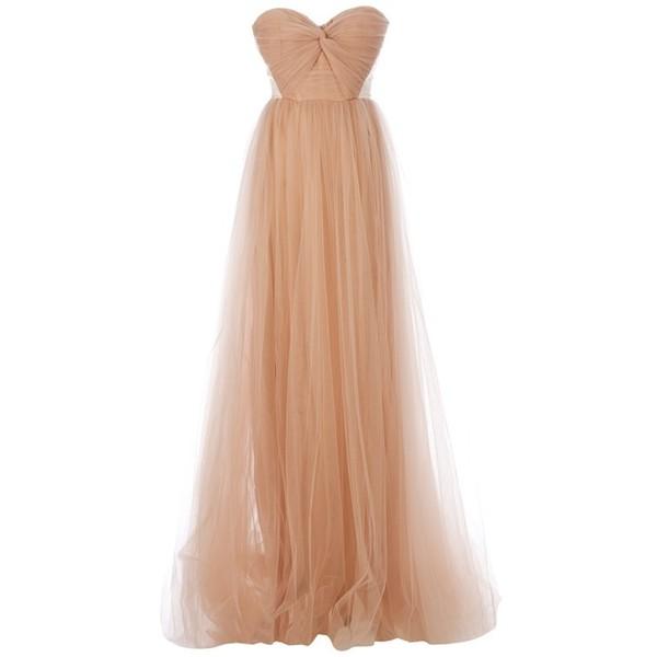 MARIA LUCIA HOHAN sweetheart neckline dress - Polyvore