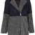 Colour Block Wool Jacket - Topshop