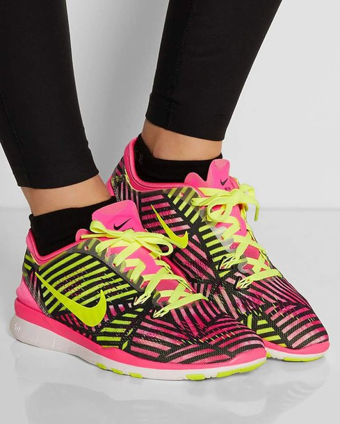 shoes nike sneakers yellow