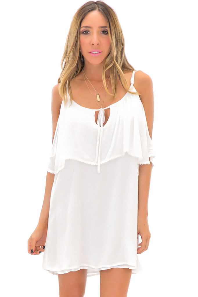 JANA OFF SHOULDER SUN DRESS   Haute & Rebellious