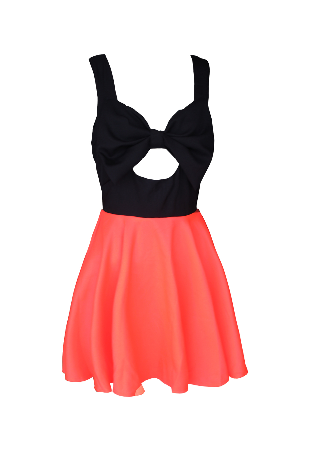 Free shiping Hollow chest bow  dress  party dress Hollow halter dress-in Apparel & Accessories on Aliexpress.com
