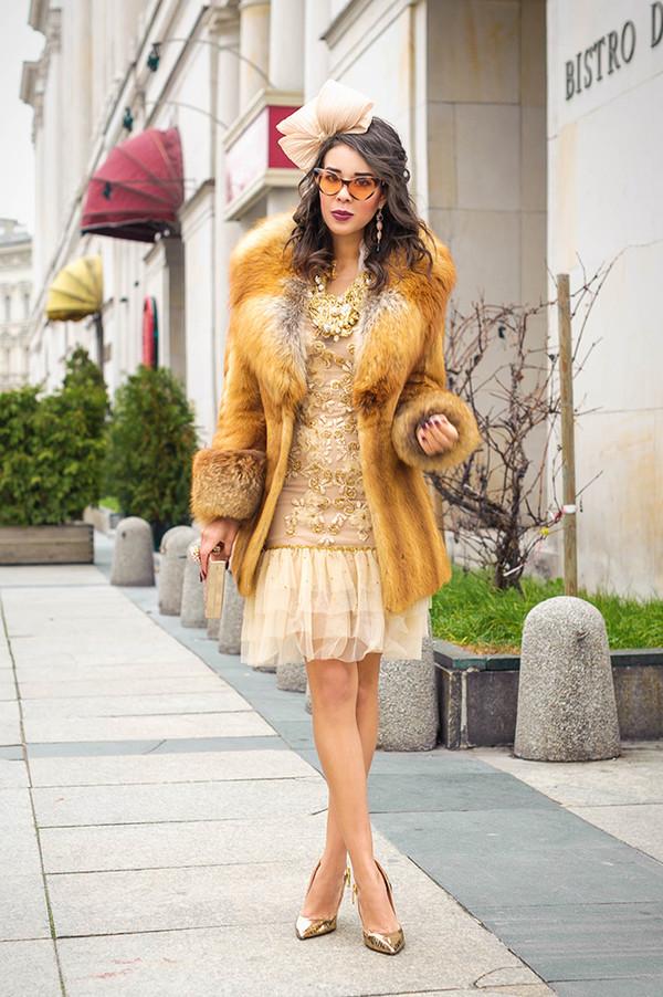 macademian girl coat dress shoes bag sunglasses jewels