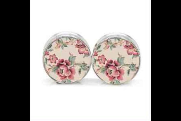jewels roses ear plug