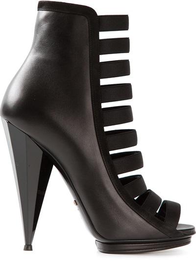 Gucci Strappy Ankle Boot - Emerson Renaldi - Farfetch.com