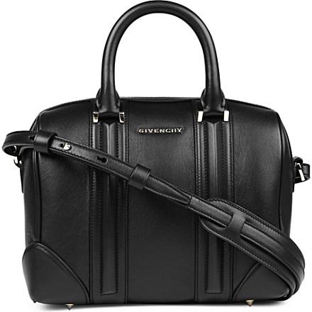 GIVENCHY - Lucrezia Sandy small leather bowling bag | Selfridges.com