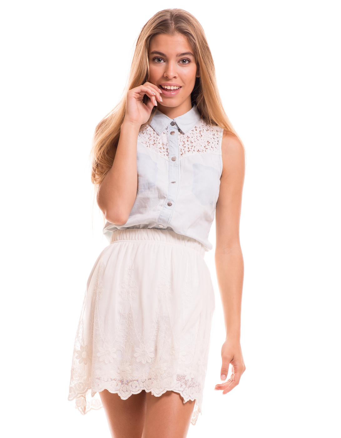 Falda lencera Cupida de Vila Clothes