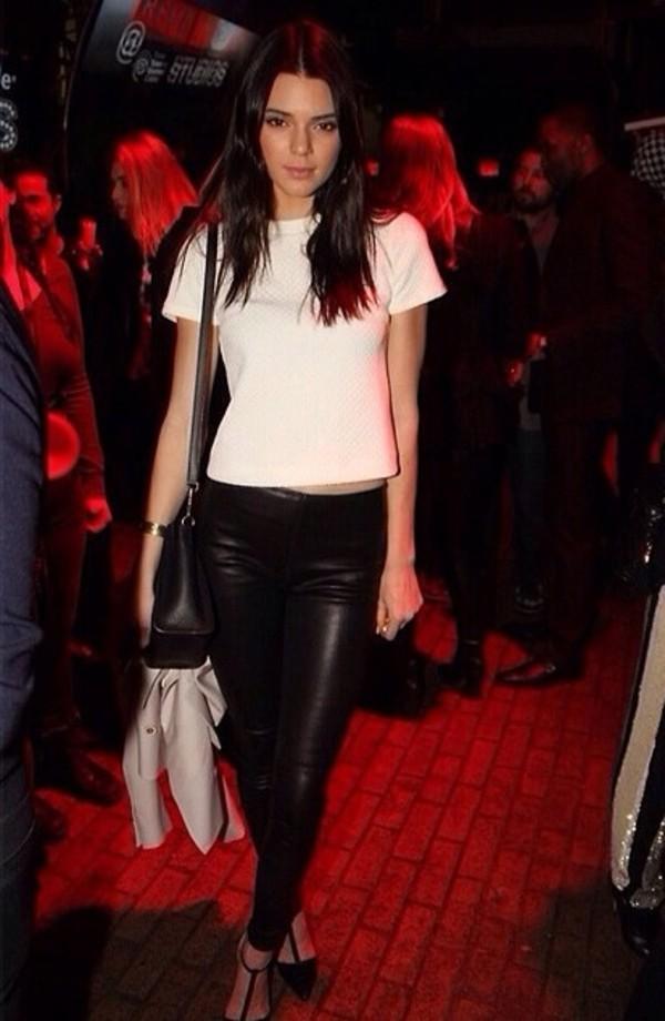 bag jeans t-shirt shoes jacket pants black