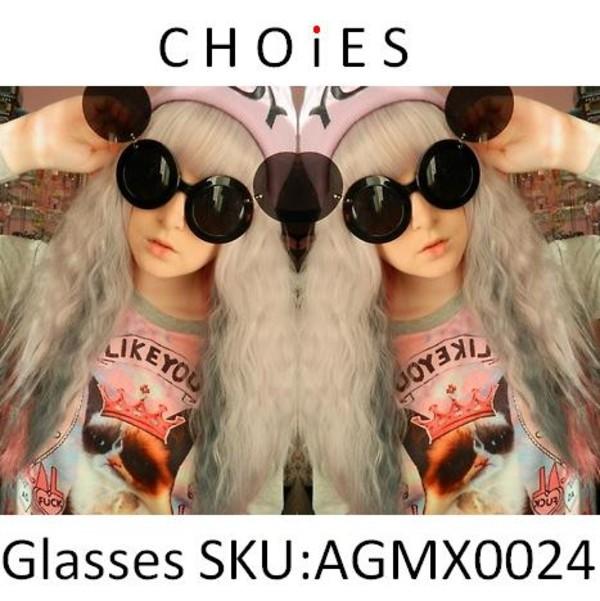 sunglasses mickey mouse cute Choies fashion