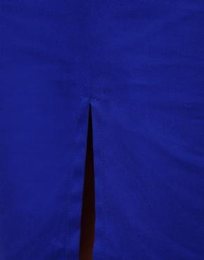 ASOS | ASOS Column Skirt with Front Split at ASOS
