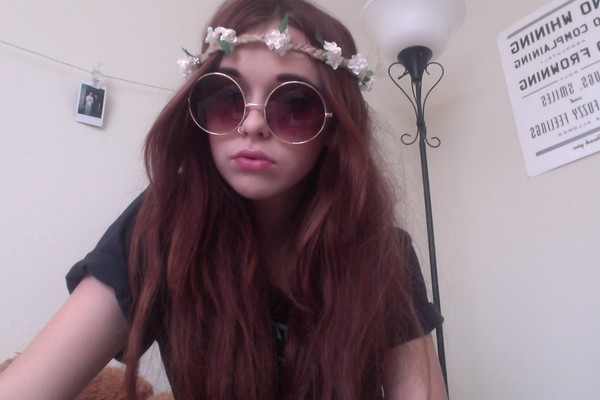sunglasses brown acacia brinley