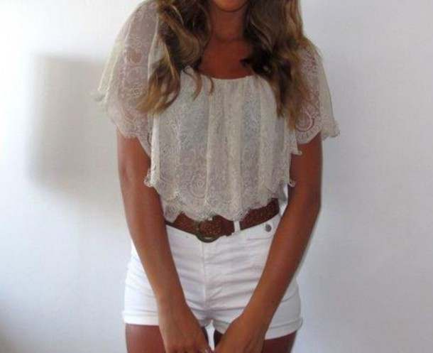 top summer outfits summer top cute lace top lace