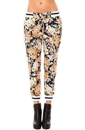 *MKL Collective Sweatpants Flower in Black -  Karmaloop.com