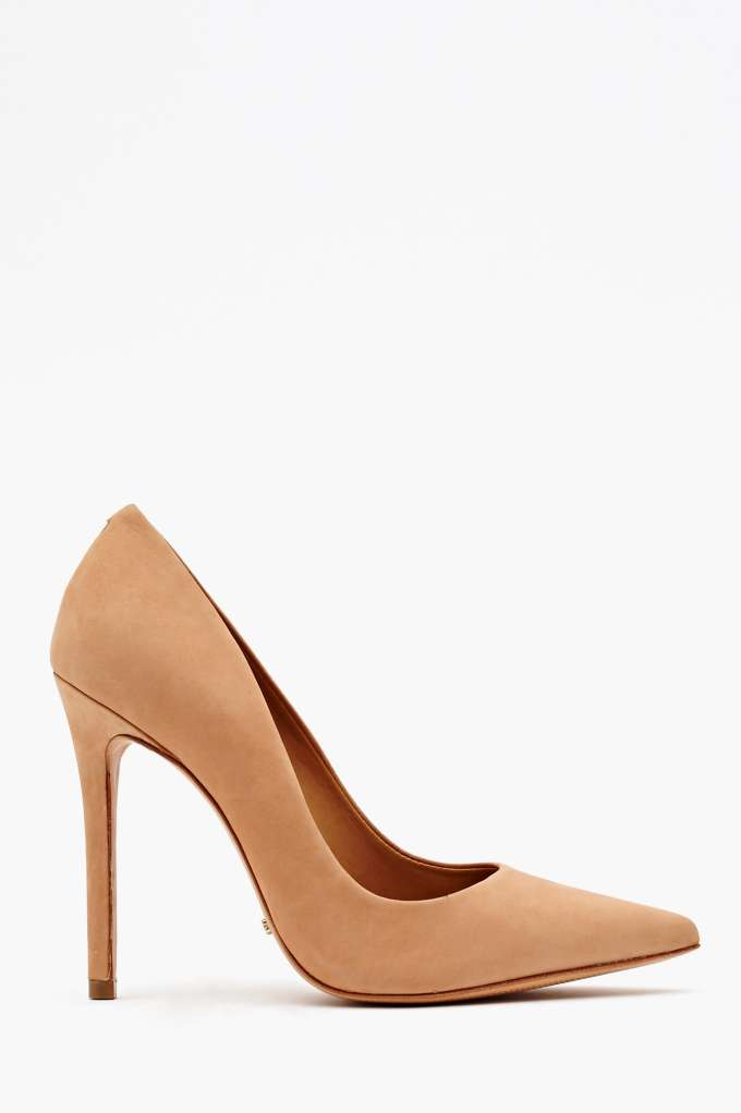 Schutz Libertine Pump - Nude  in  Shoes Back In Stock at Nasty Gal