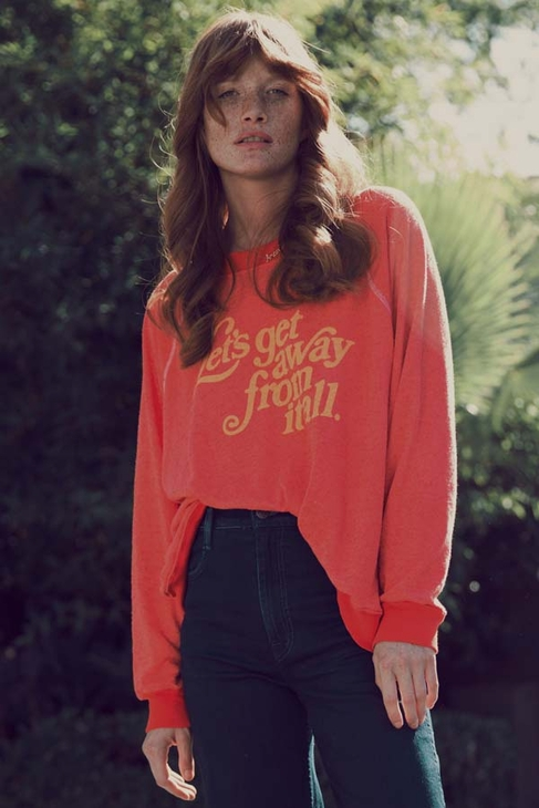 Wildfox Couture Let's Get Away Kim Sweater in Holiday