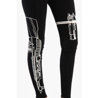 OMG Machine Gun Leggings - Black