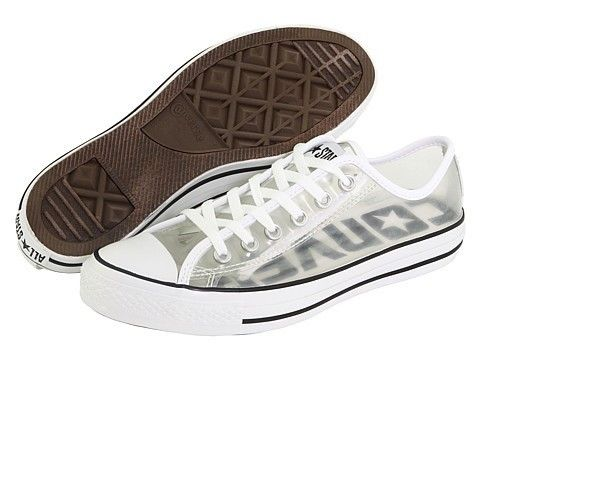 Brand New Chuck Taylors Clear All Star Converse Shoes 8 Mens   eBay